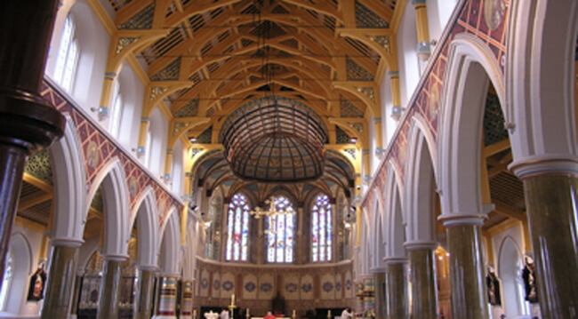 Quinn Roof Truss Bespoke Cathedral Internal Design - project 3