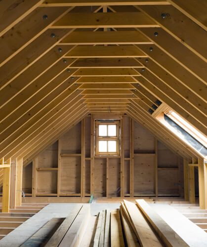 Quinn Roofspace Truss Engineered timber